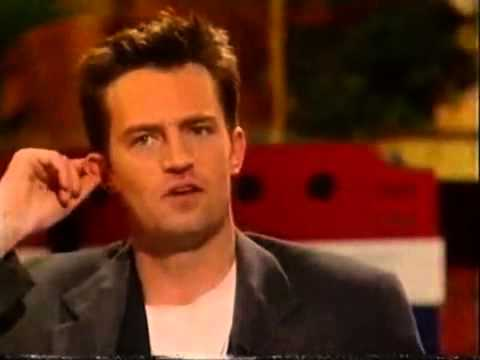 Gaby Roslin meets Friends Cast - Matthew Perry, Matt LeBlanc and David Schwimmer part 4