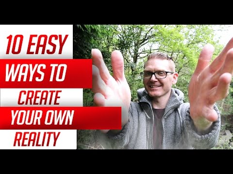 10 ways to  Created Your Reality From Thoughts And Beliefs!  And Imagination (Law Of Attraction)