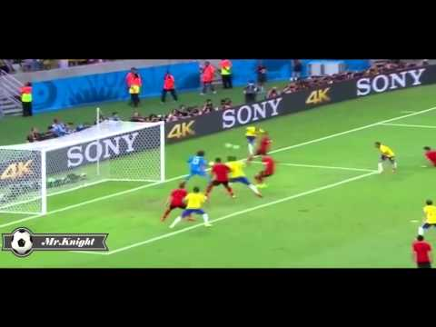 Guillermo Ochoa Saves VS Brazil World Cup 2014