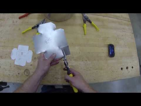 Sheet Metal Box- Cutting out the box