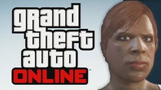 GTA 5 Online Meet SHANIQUA Character Creation And
