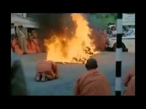 Hoa thuong Thich Quang Duc tu thieu vao ngay 11 thang 6 nam 1963