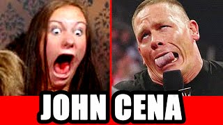 Scary John Cena Prank on Video Chat