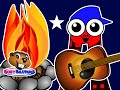 """Campfire ABCs Song"" - Teach Babies, Toddlers, Kids, Preschoolers & Kindergarten Children English"