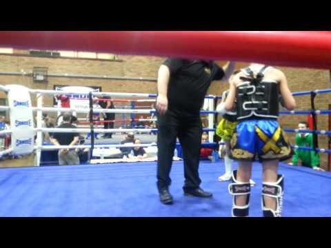 Mackenzie first fight sandee junior championships