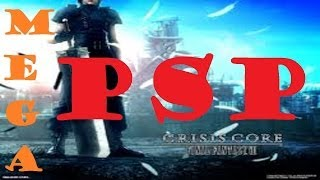 PSP Como Descargar Final Fantasy Crisis Core MEGA