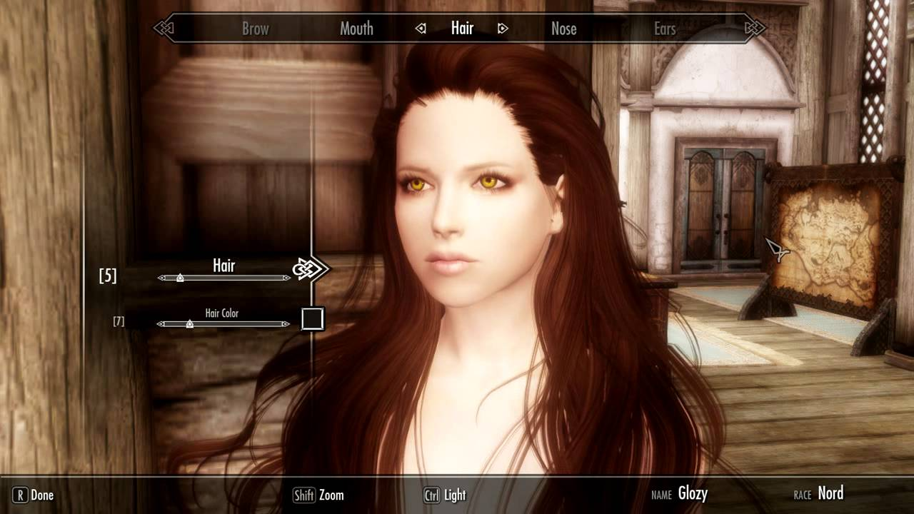 sg hair pack 120 skyrim for