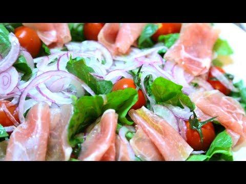 Receita de salada de espinafre
