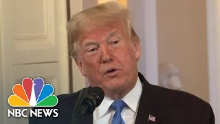 President Donald Trump Shames Republicans Who Did Not 'Embrace' His Support | NBC News