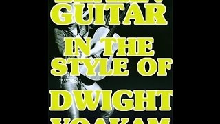 Learn Guitar In The Style Of Dwight Yoakam Lessons Scott Grove