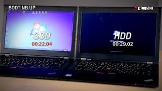 SSD HDD karşılaştırması - HDD vs SSD karşılaştırma