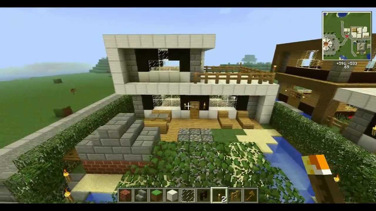 minearchi ep08 maison riche youtube. Black Bedroom Furniture Sets. Home Design Ideas