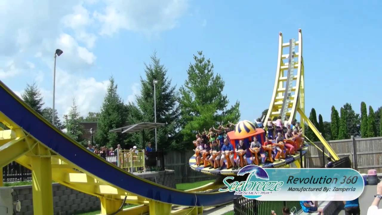 Seabreeze Amusement Park 2012 - YouTube