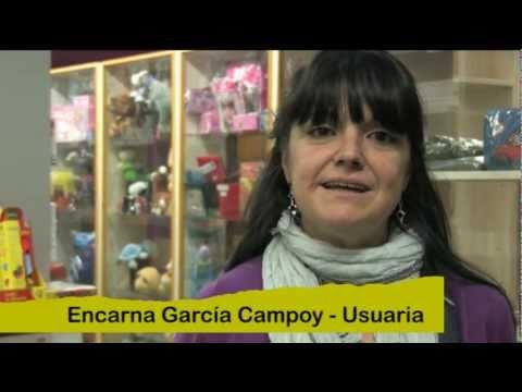 Encarna Gacia Campoy, usuària d'Arep