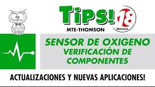 Tips 18 – Sensor de Oxigeno – Verificación de Componentes