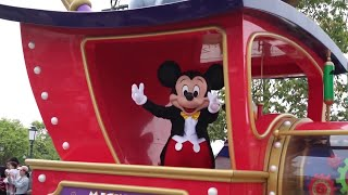 Mickey's Storybook Express Shanghai Disneyland Full Parade