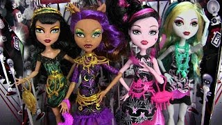 MONSTER HIGH FRIGHTS CAMERA ACTION! BLACK CARPET DOLLS