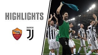 HIGHLIGHTS: Roma vs Juventus - 0-0 - Serie A - 13.05.2018