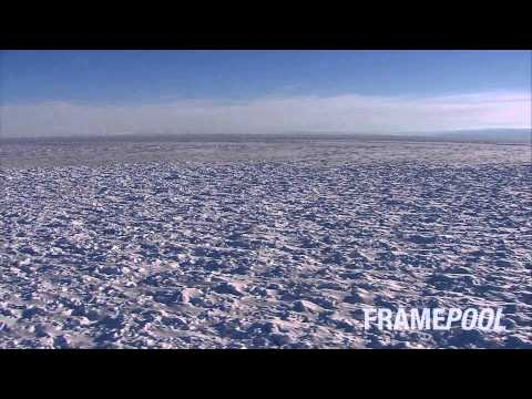 Antarctica today - coldest temperature ever (HD stock video)
