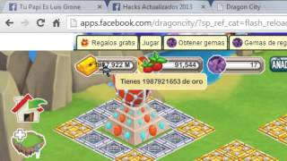 Dragon City| Hacker De Oro Y Experiencia Mayo 2014
