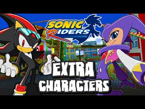 Sonic Riders - (1080p) Extra Unlockable Characters