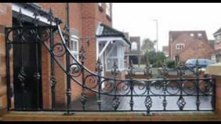 Wrought Iron Work Gates, Railings, Balconies, Spiral