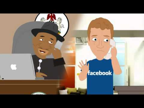 Goodluck Jonathan and Mark Zuckerberg - facebook (Aaewai.com)