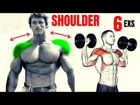 6 BEST SHOULDERS WITH DUMBELLS ONLY / Les meilleurs exercises musculation épaules avec haltères