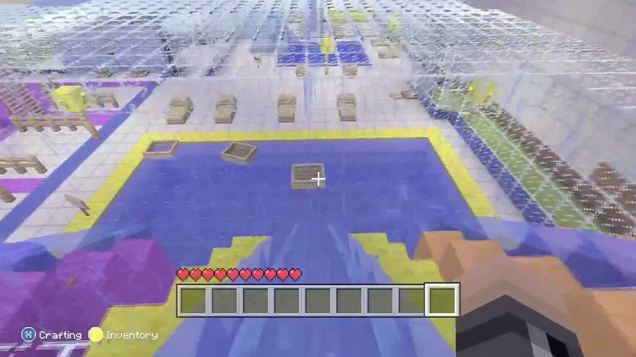 Minecraft Nice Swimming Pool Xbox 360 Edition Youtube