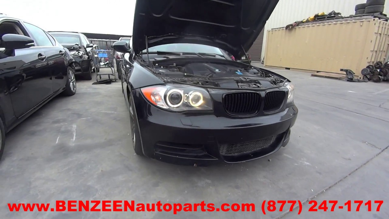 parting out 2011 bmw 135i stock 7405yl tls auto recycling rh tlsautorecycling com BMW 135I Custom BMW 135I Coupe