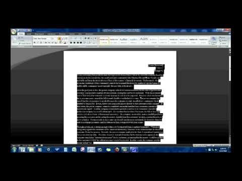 double spaced essay microsoft word 2010 How to double space an essay on word double youtube 17 mar 2013 how to double space in microsoft word 2010 in this tutorial you will learn how to double space in how to double space or change line spacing in microsoft word 26 apr 2017 the steps to enable.