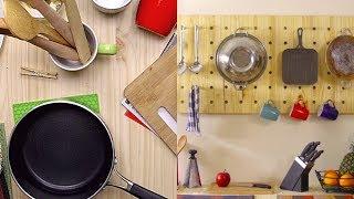 Cómo hacer un perchero para la cocina