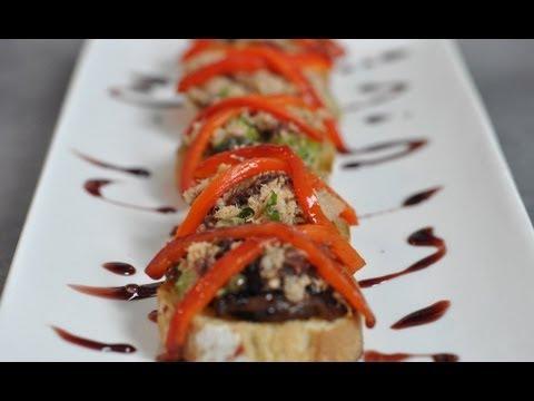 Recette des bruschetta de thon d 39 herv cuisine youtube - Youtube herve cuisine ...