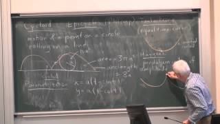 MathHistory14: Mechanics and curves