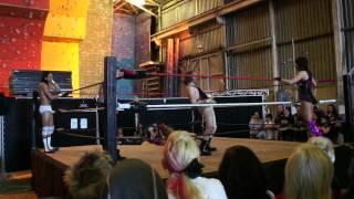 Amateur Wrestling 2 V 2 (Men VS Women)