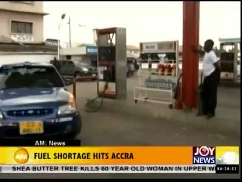 Fuel Shortage in Accra - Joy News (26-6-14)