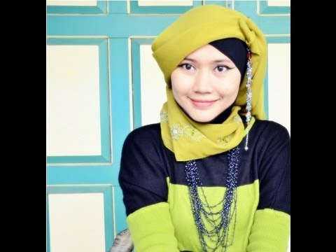 Paris Simple Hijab Style Tutorial Inspired by Fatin Shidqia - Part 11#