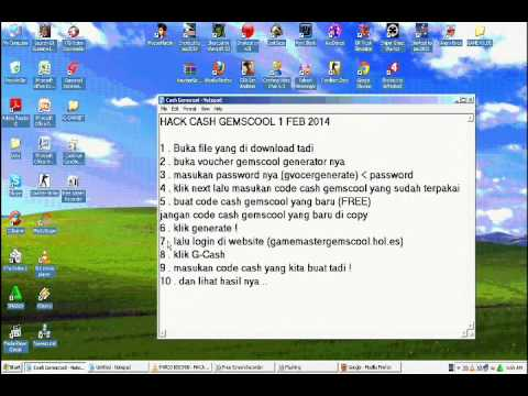 Cheat G-cash Gemscool 19 Feb 2014