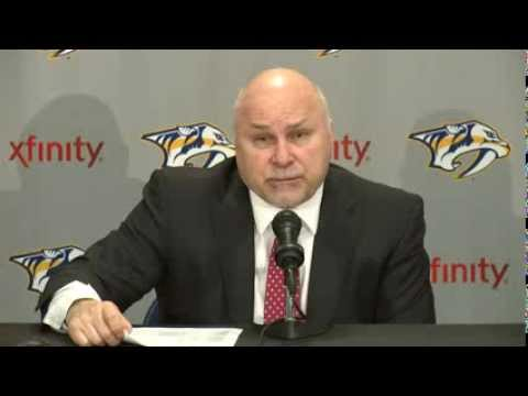 Barry Trotz Postgame February 8, 2014