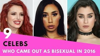 9 Celebrities Who Came Out As BISEXUAL In 2016! | Hollywire