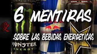 Mentiras de las bebidas energéticas