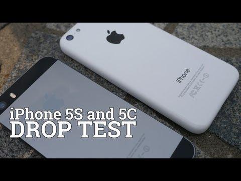 Wytrzymałość na upadki iPhone'a 5s i iPhone'a 5c