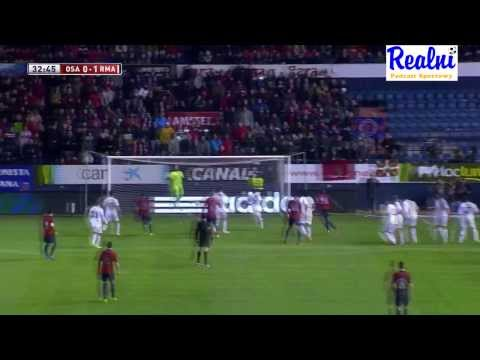 CA Osasuna vs Real Madrid C.F. 0:2 All goals & all shots