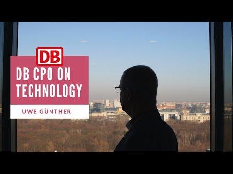 Deutsche Bahn Chief Procurement Officer talks Technology. Uwe Günther