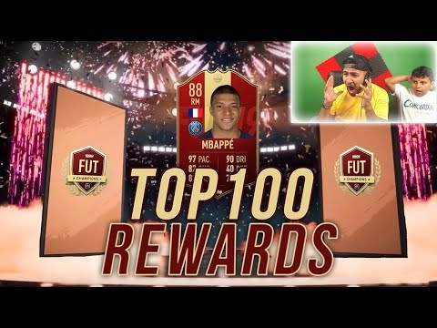TOP100 REWARDS / 12K FIFA POINTS / FUT RIVALS REWARDS !! FIFA 19