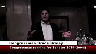 Braley Scoffs: Grassley Just An Iowa Farmer Who Never Went