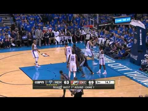 Memphis Grizzlies vs Oklahoma City Thunder Game 1 | April 19, 2014 | NBA Playoffs 2014