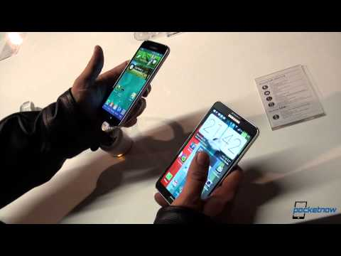 Samsung Galaxy S5 vs Samsung Galaxy Note 3 - MWC 2014
