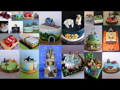 Những bánh kem sinh nhật đẹp nhất cho bé trai hiện nay