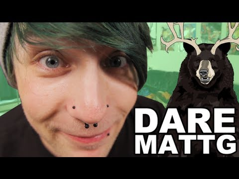 Dare MattG - 37 (Gauging my ears, Edward Scissor hands The Olympics)